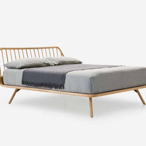 letto pianca trama legno
